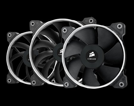 Corsair Air Series SP120-140 Performance