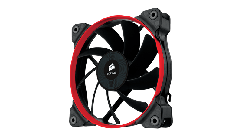 Corsair Air Series AF120-140 Performance Edition Red