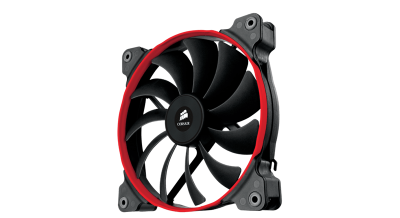 Corsair Air Series AF120-140 Quiet Edition Red