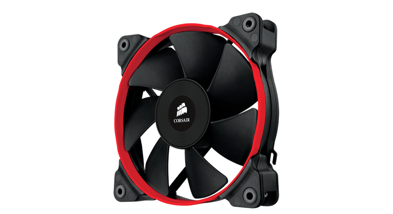 Corsair Air Series SP120-140 Quiet Edition Red