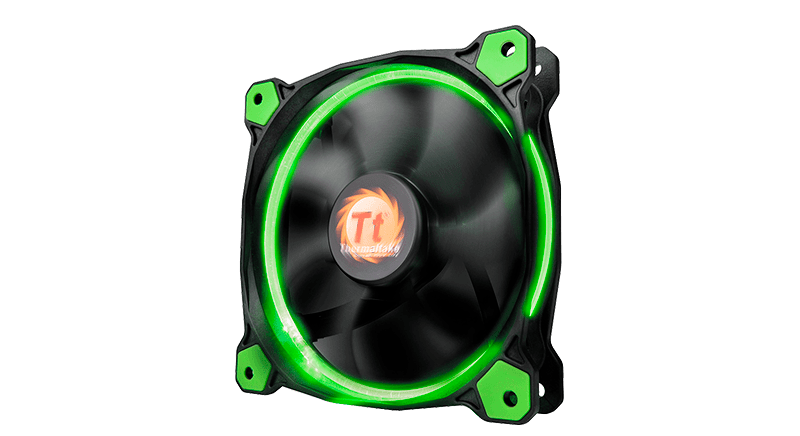 Thermaltake Riing 12/14 LED Green