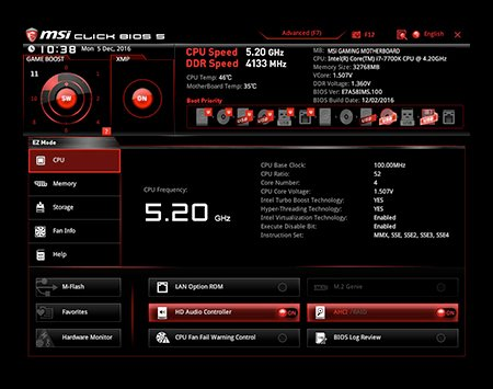 MSI Z270I GAMING PRO CARBON AC