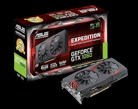 ASUS EXPEDITION GTX1060 6G