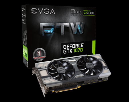 EVGA GTX 1070 FTW GAMING ACX 3.0